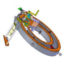 Приспособления для обработки торцов труб паропроводов под сварку К182Г, К113Г, К208Г